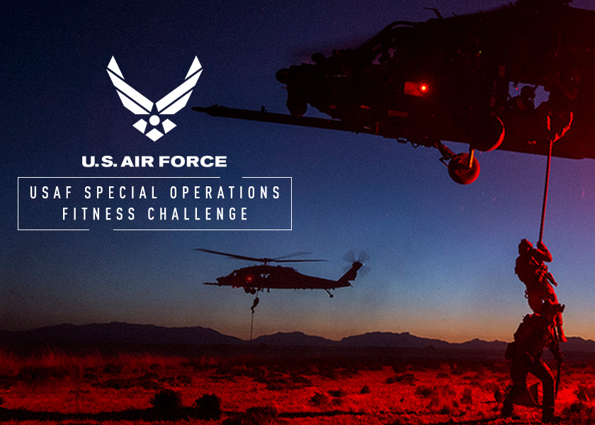 U.S. Air Force Special Operations Fitness Challenge