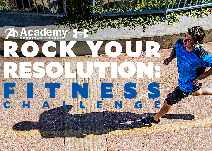 Rock Your Resolution: Fitness Challenge