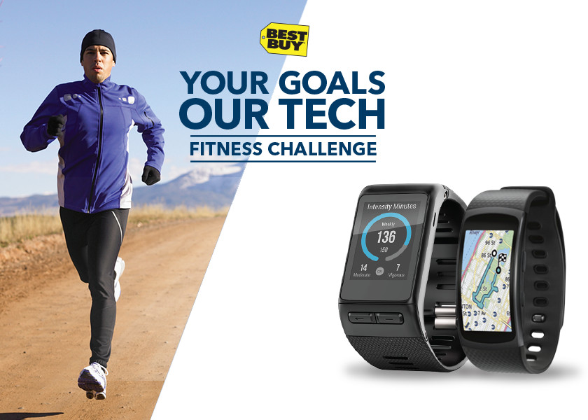 BEST BUY® YOUR GOALS. OUR TECH. FITNESS CHALLENGE