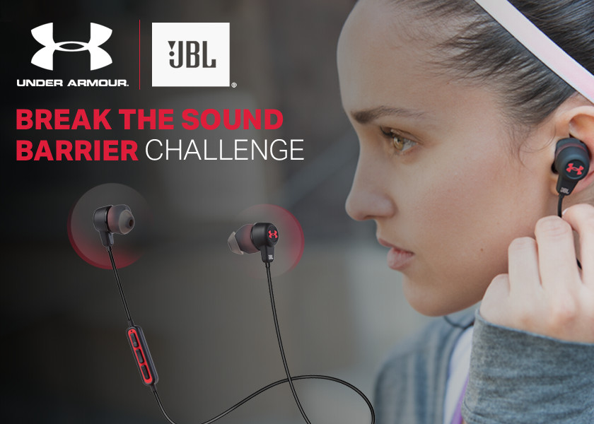 The JBL Break the Sound Barrier Challenge