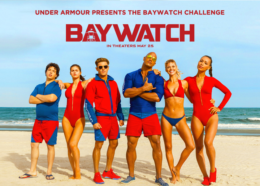 "The Under Armour + ""Baywatch"" Challenge"