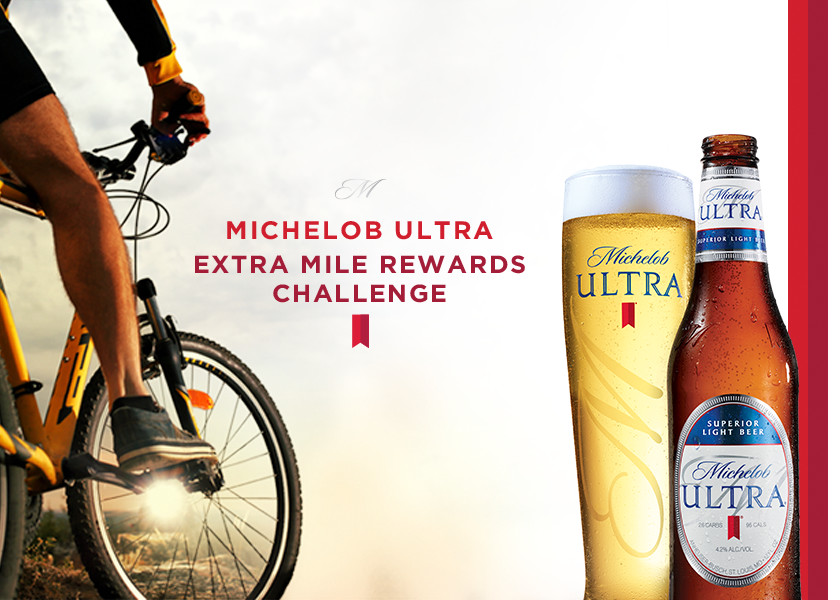 Michelob ULTRA Extra Mile Rewards Challenge